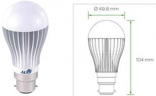 B22D Peertjes Bajonet B22D lampen