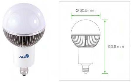 E11 G19 Kogellamp 230V
