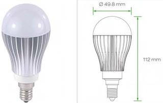 E14 Led Peertjes E14 lampen