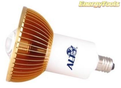 MR16 spotje E11 230V 1W Luxeon warmwit 38° led spot 70Lm - led spots