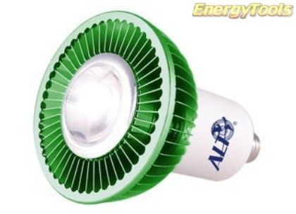 MR16 spotje E14 230V 1W Luxeon groen 120° led spot 120Lm - led spots