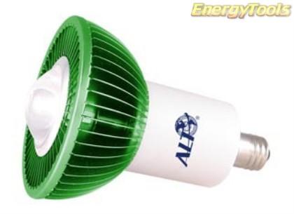 MR16 spotje E14 230V 1W Luxeon groen 60° led spot 120Lm - led spots