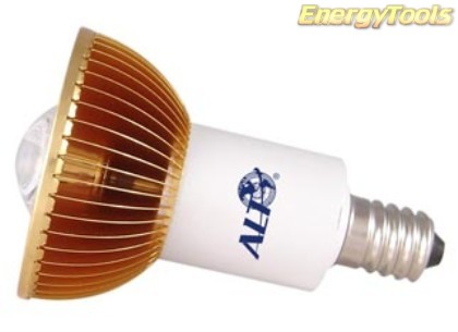 E17 Led MR16 230V 1W warmwit 70Lm 120º Lumileds Philips - led spots