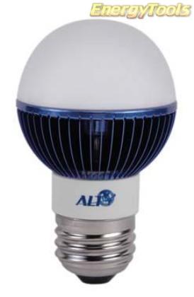 Led kogel E27 G19 230V 3W blauw 65Lm 180° Philips Rebel - led kogellampen