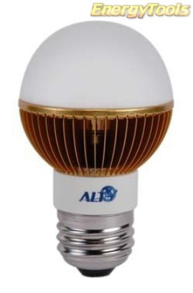 Led kogel E27 G19 230V 5W warm wit 120Lm 180° Epistar - led kogellampen