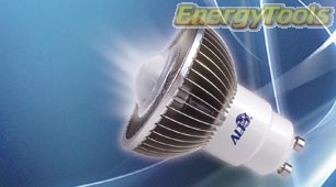 MR16 GU10 led spotje 220V Cree XT-E 7W 2200K warm 38° 500Lm