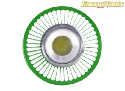 MR16 spotje GU5.3 12V 1W Luxeon groen 120° led spot 120Lm - led spots