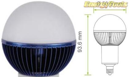 Led kogel E11 G19 230V 5W blauw 70Lm 180° Epistar - led kogellampen