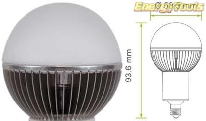 Led kogel E11 G19 230V 7W koud wit 350Lm 180° Epistar - led kogellampen
