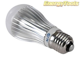 E27 Led Peertje A19 230V 5W koudwit 120Lm 180º Bridgelux - led peertjes