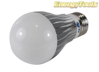Led Peer E27 A19 230V 7W koud wit 200Lm 180° Bridgelux - led peertjes