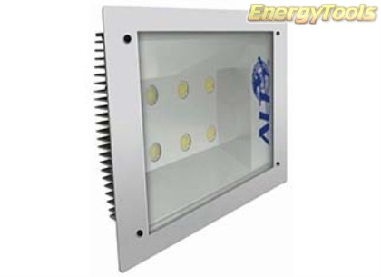 Inbouw Led plafondverlichting 72W 7650Lm koud wit 60° Cree XP-G 230V