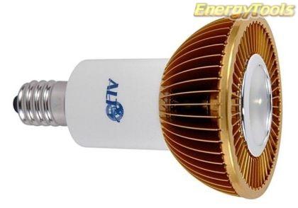 Led spot E14 MR16 230Volt 7Watt warm wit 320Lm 15° Luxeon - led spots