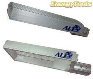 Led straatlamp 144W neutraal wit buitenverlichting IP68 waterdicht aluminium 13200Lm 20° Cree XP-G 24V/230V