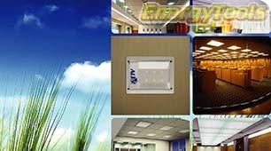 Inbouw Led plafondverlichting 30W 1800Lm warm wit 130° Bridgelux 230V