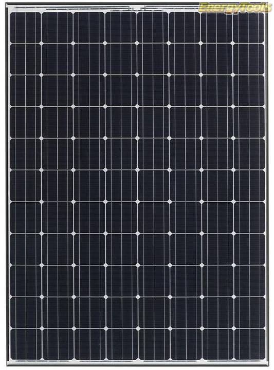 Panasonic 325Wp zonnepaneel Monokristallijn Zwart Frame P-HIT-N325