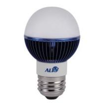 Led kogel E27 G19 220V 5W blauw 70Lm 180° Epistar  - kogellampen