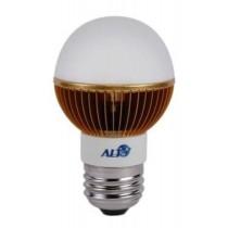 G19 E27 led kogellamp 220V Cree MC E 7W warm wit 180° 355Lm