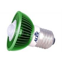 MR16 spotje E27 230V 7W Epistar groen 60° led spot 170Lm - led spots