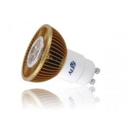 Led spot GU10 MR16 230Volt 7Watt warm wit 520Lm 38° Cree XP-G - led spots