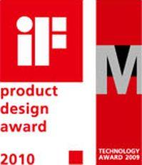 Prijswinnaar LED design IF technology award 2010